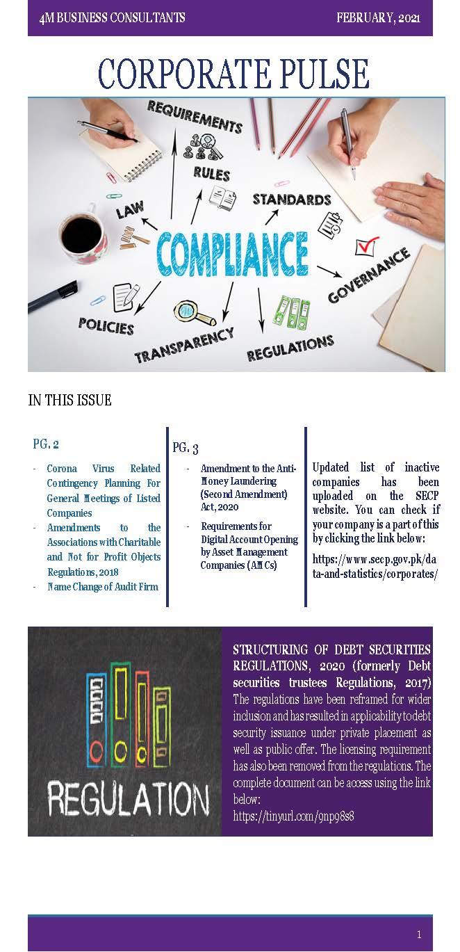 Corporate Pulse – February 2021